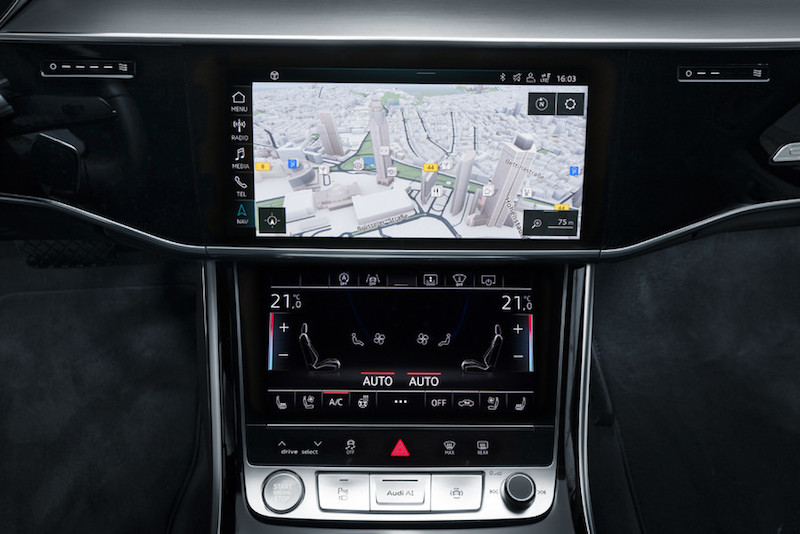 Audi A8 2017: Connected Superstar - Radio und Display