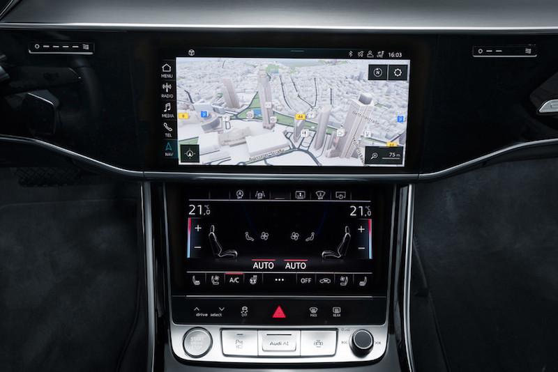 Audi A8 2017: Connected Superstar - Radio und Display