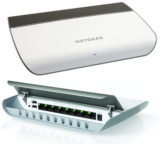 Vernetztes Heim und Buero - Netgear Router