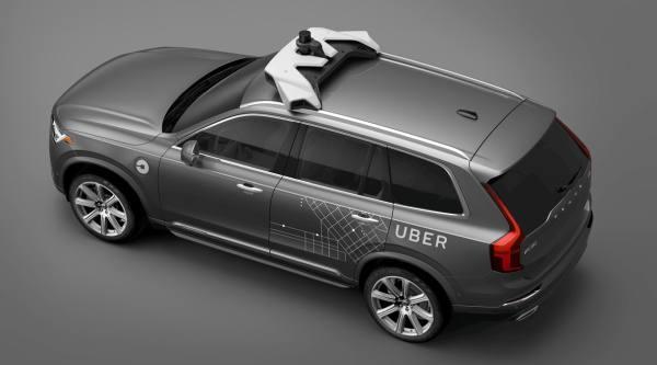 Volovo Uber autonome Autos